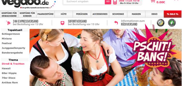 Rédaction de textes de qualité en allemand pour Vegaoo.de