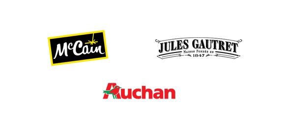 Mc Cain, Jules Gautret, Auchan