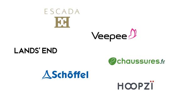 Escada, Veepee, Chaussures.com, Schöffel, Lands'End, Hoopzï