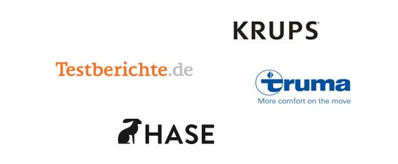 Testberichte.de, Hase, Krups, Truma