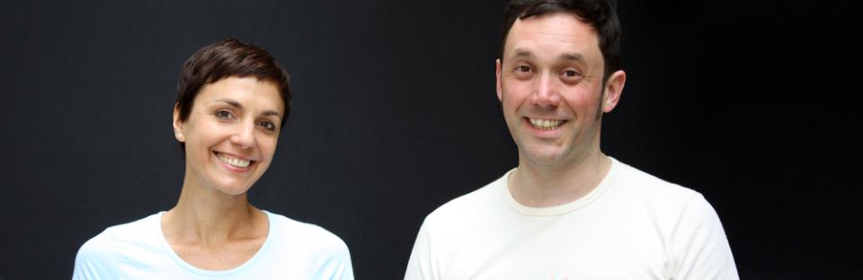 Sabine Listmann et Mathieu Tascher, les deux copywriters et traducteurs de Stereotexte