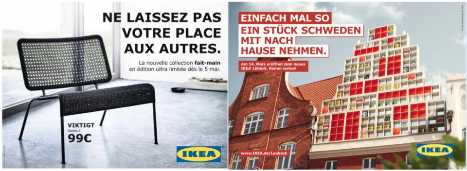 Tu ou vous chez Ikea