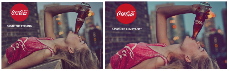 Tu ou vous – exemple Coca-Cola