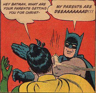 Le mème Batman, un plaisir sans cesse renouvelé.