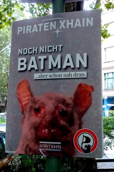 Difficile de faire plus laid que cette affiche qui n'a rien de flatteur pour le parti.
