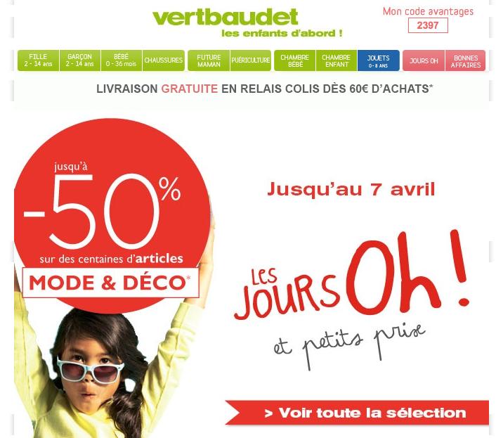"""Stereotexte – Les jours """"oh !"""" de Vert Baudet"""